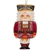 Фигурка резная «Щелкунчик» художественная роспись