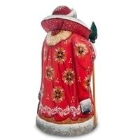 Фигурка Дед Мороз с тройкой (Резной)