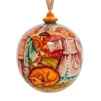 Елоченая игрушка «Оснень» художественная роспись