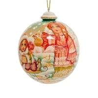 Елоченая игрушка «Ангел» художественная роспись