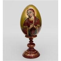Яйцо-икона «Умягчение злых сердец» (художник Рябова)