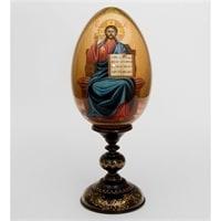 Яйцо-икона «Господь Вседержитель» Рябов С.