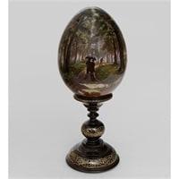 Яйцо «Дубовая роща» (художник Рябов)
