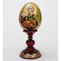 Яйцо-икона «Взыграние Младенца» (автор Борисова)