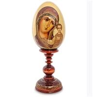 Яйцо-икона «Казанская Пресвятая Богородица» (художник Рябова Г.)