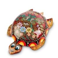 Шкатулка Палех «Черепаха»