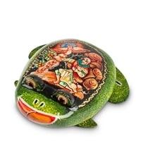 Шкатулка Палех «Лягушка»