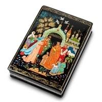 Шкатулка Палех «Венчание» (художник Серов)