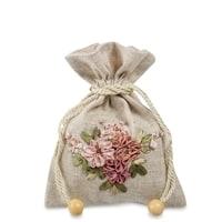 Подарочный мешочек из льна «Летний рассвет» LK-02