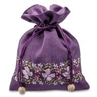 Подарочный мешочек из льна «Весеннее настроение» LK-05