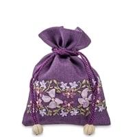 Подарочный мешочек из льна «Весеннее настроение» LK-06