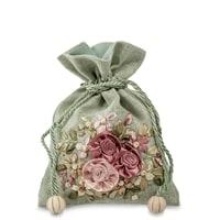 Подарочный мешочек из льна «Летний сад» LK-10