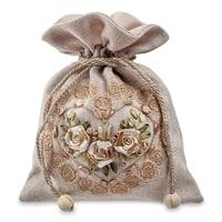 Подарочный мешочек из льна «Симфония любви» LK-27