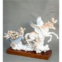 "Статуэтка из фарфора ""Небесная колесница"" UK-05"