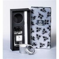Аромадиффузор со свечой «Jade Silver» 100 мл, в под. кор. WD-09/4