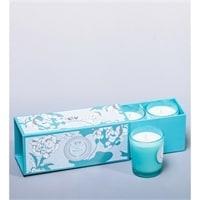 Набор из 3 аромасвечей «Морские минералы» в подарочной коробке WD-04/2
