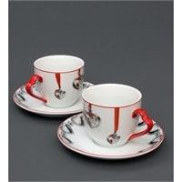 Чайная пара из фарфора «С Любовью» FD-30
