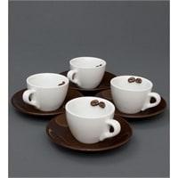 Чайный набор на 4 персоны «Для влюбленных в кофе» FD-04