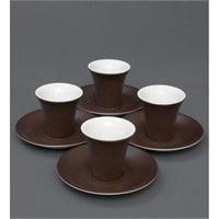 Кофейный набор из фарфора на 4 персоны «Колумбия для двоих» FD-20