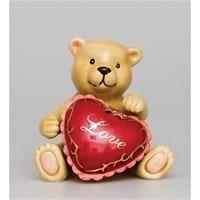Набор соль-перец «Влюбленный мишка» CMS-14/17 (Pavone)