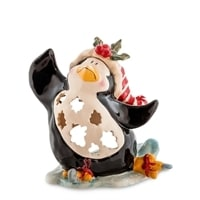 Подсвечник «Пингвин в танце на льду» BS-504 (Pavone)