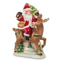 CMS-14/19 Набор соль-перец «Дед Мороз на олене» (Pavone)