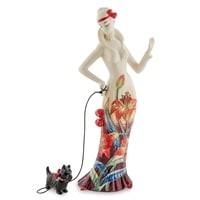 Фарфоровая статуэтка Девушка «Лилия» JP-98/24 (Pavone)
