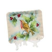 Тарелка декоративная из фарфора «Дивный сад» JP-97/27 (Pavone)