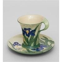 Чайная пара из фарфора «Ирис» JP-625/1 (Pavone)