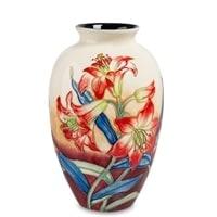 Ваза для цветов из фарфора «Лилия» JP-98/8 (Pavone)