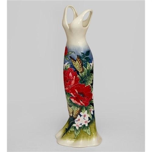Ваза напольная для цветов из фарфора «Платье» JP-852/7 (Pavone)