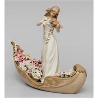 """CMS-15/51 Статуэтка """"Девушка со скрипкой в гондоле"""" (Pavone)"""
