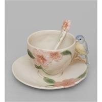 Чайная пара «Голубая птица Счастья» CMS-54/1 (Pavone)