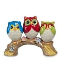 Подставка для зубочисток «Три совы» CMS-60/11 (Pavone)