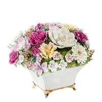 Композиция из костяного фарфора «Ваза с цветами» CMS-33/2 (Pavone)