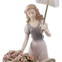 """Композиция из фарфора """"Девушка с цветами"""" CMS-20/20 (Pavone) – 101328"""