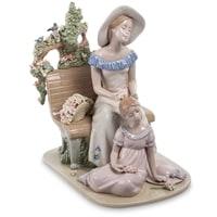 Фигурка из фарфора «Мать с дочерью» CMS-20/16 (Pavone)