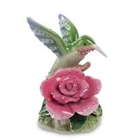 Фигурка «Колибри на розе» CMS-35/5 (Pavone)