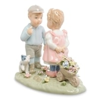 Статуэтка Мальчик и девочка «Дружба» CMS-12/35 (Pavone)
