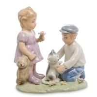 Статуэтка Мальчик и девочка «Дружба» CMS-12/39 (Pavone)