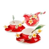 Чайный набор из фарфора «Франжипани» на 2 персоны FM-40/4 (Pavone)