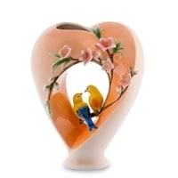 Ваза для цветов из фарфора «Сердце» FM-16 (Pavone)