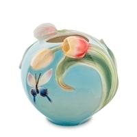 Ваза для цветов из фарфора «Бабочки» FM-72/4 (Pavone)