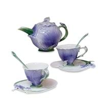 Чайный набор из фарфора «Ирис» на 2 персоны FM-40/2 (Pavone)