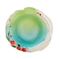 Тарелка суповая из фарфора «Лебеди» FM-76/9 (Pavone)
