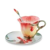 Чайная пара из фарфора «Дикая Роза» FM-01/19 (Pavone)