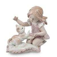 Фигурка «Девочка с котенком» JP-29/3 (Pavone)