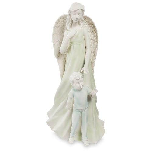 Статуэтка из бисквитного фарфора «Ангел и мальчик» VS-29 (Pavone)