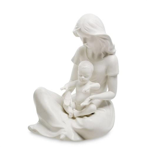 Статуэтка из бисквитного фарфора «Мать и дитя» VS-25 (Pavone)