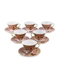 Чайный набор из костяного фарфора на 6 персон «Дольче Вита» AS-61 (Pavone)